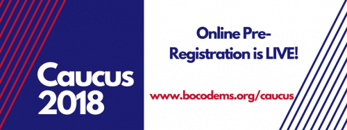 BCDP Pre Registration is Live