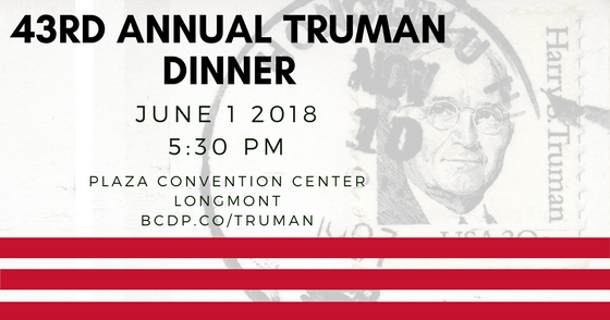 RSVP to the Truman Dinner
