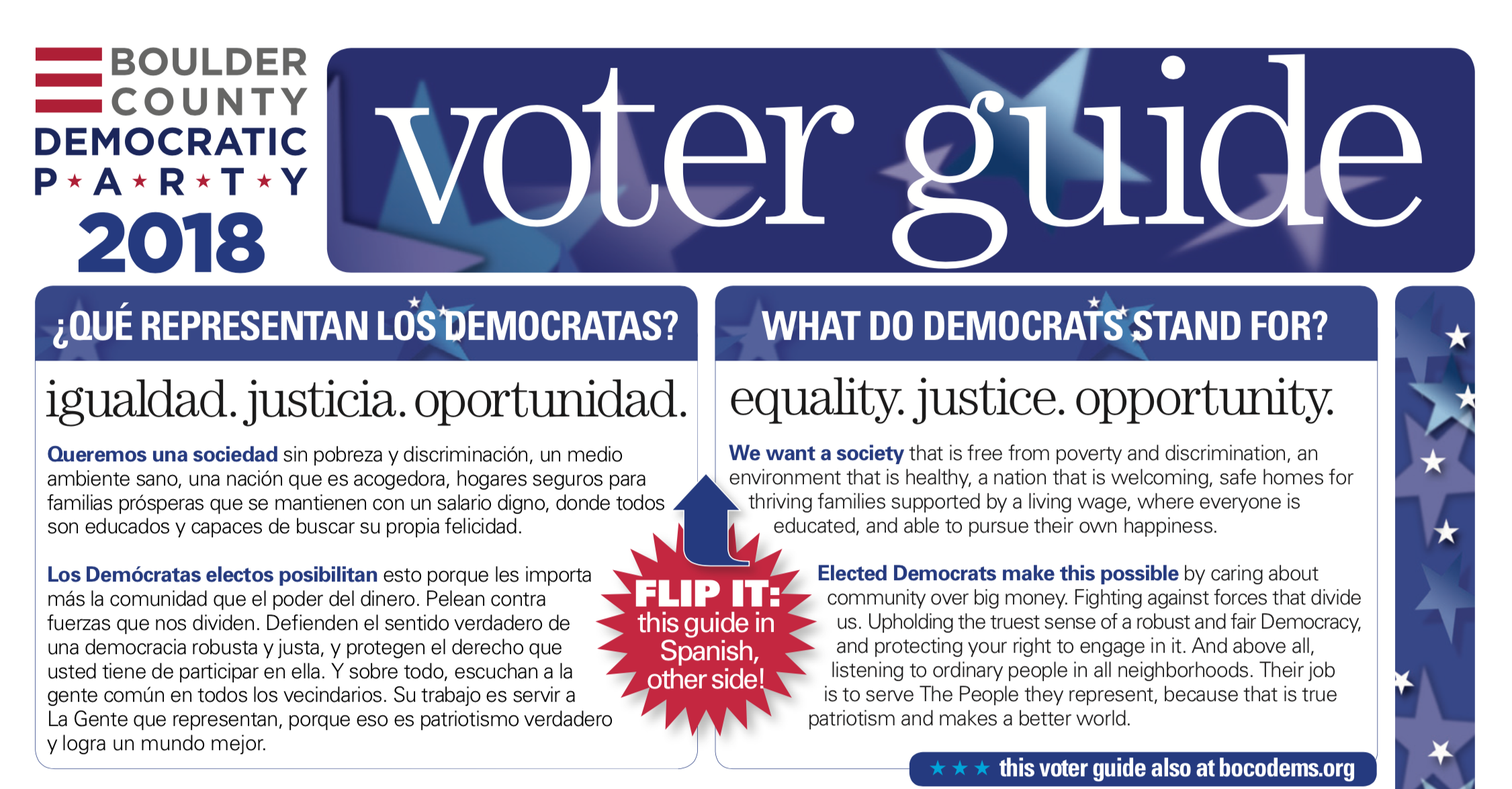 BCDP Voter Guide